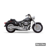 ECHAPPEMENT COBRA - SPEEDSTER SWEPT - SOFTAIL 86/06 - CHROME
