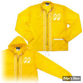 COUPE VENT - MOON - MOON EQUIPPED LIGHT WINDBREAKER - COULEUR : JAUNE - TAILLE 4 / L