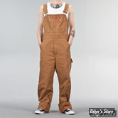 SALOPETTE - DICKIES - BIB OVERALL DUCK - MARRON CLAIR - TAILLE US 34/32
