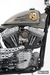 TRAPPE D INSPECTION - BIG TWIN 65/06 - ACCUTRONIX - STEPPED ET SLOTTED - CHROME