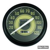 Compteur - Fat Bob - Army Face - En mph