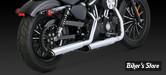 Silencieux Vance & Hines Twin Slash - Sportster 2014up - chrome