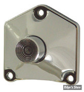 BOUTON DE DÉMARREUR DIRECT- MID USA - BIGTWIN 91UP - Pyramide Style - Chrome