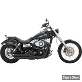 SILENCIEUX VANCE & HINES TWIN SLASH - FXDF 08UP / FXDWG10UP - NOIR - 46845