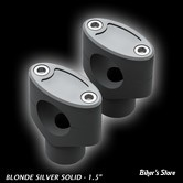 "RISERS FIGURE MACHINE - CLEAN RISERS - HAUTEUR : 6"" - BLONDE SILVER"
