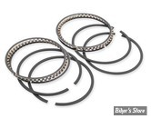 SEGMENTS HASTINGS FLATHEAD 750CC 29/49 - COTE : +0.080 - TYPE : CHROME/MOLY - HASTINGS