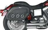 KIT DE SACOCHES - SADDLEMEN - S-4 RIGID MOUNT QUICK-DETACH SLANT SADDLEBAG - DRIFTER - SPORTSTER 94UP