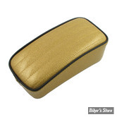 SELLE LE PERA - SOLO - METALFLAKE - SOLID GOLD PLEATED - BIAIS NOIR : POUF