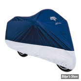 HOUSSE MOTO NELSON RIGGS - MC-903 - DELUXE - NAVY/ARGENT - TAILLE L