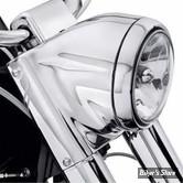 KIT NACELLE DE PHARE - Softail 86up - Chrome