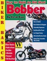 CONSTRUCTION - BOOK, HOW TO BUILD AN OLD SKOOL BOBBER