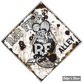 Plaque metallique Rat Fink