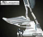 Porte babages de sissy bar Motherwell - 2 up - CHROME - MWL-165