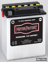 Batterie - 66006-70 - 12N74A - Motor Factory