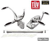 Commandes avancees Rebuffini - Ellipse -Softail 86/99 - +1 - Chromee