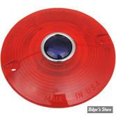 CABOCHON - 68440-86 - Rouge / BLUE DOT