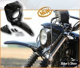 TETE DE FOURCHE - EASYRIDERS - SCRAMBLER TYPE FRONT FENDER WITH COWL AND VISOR - SPORTSTER 04/16 - H0461