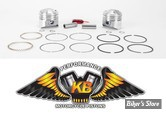 Kit pistons Keith Black (KB) - BigTwin Knuckle/Pan/Shovel 41/78 - +0.070