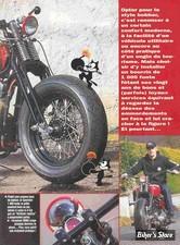 2001 / Bomber Cat : 1000 Fonte de 1980 Bobber : Freeway Magazine n°119 Novembre 2001 (3)