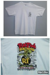 TEE-SHIRT - RAT FINK - RAT FINK FOR PRESIDENT - COULEUR : BLANC - TAILLE 5 / XL