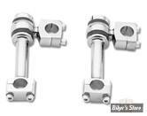 """RISERS DOG BONE DEPORTE - HAUTEUR : 5"""" - JAMMER CYCLE PRODUCT - CHROME"""