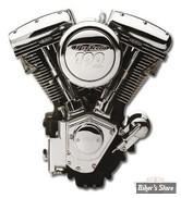 100 - Moteur complet Revtech 100 - Euro 3 - noir wrinkle