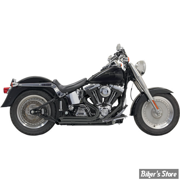ECHAPPEMENT BASSANI - New PRO-STREET - SOFTAIL 86UP - TURN OUT / Noir