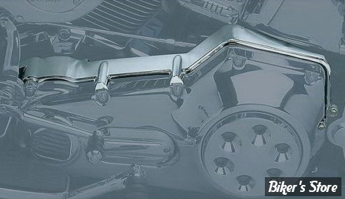 CACHE CARTER PRIMAIRE SUPERIEUR - KURYAKYN - SOFTAIL 00/06 - CHROME - 8291