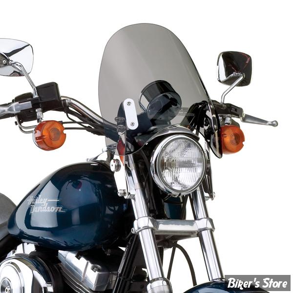 pare brise national cycle switchblade deflector sportster dyna 91 05 fxr teinte gris. Black Bedroom Furniture Sets. Home Design Ideas