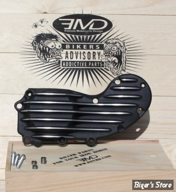 CARTER DE DISTRIBUTION - SPORTSTER 91UP - EMD - WTF CAM COVER - NOIR