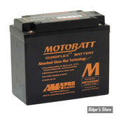 BATTERIE - 65989-97C - MOTOBATT Batterie MBTX20UHD - Noir