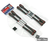 TOURNEVIS (KIT) - BTR / BOULE - EKLIND -  8 Piece Ball-Hex PSD Screwdrivers