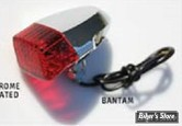BANTAM / CLIGNO BANTAM - MID WEST - CABOCHON : ROUGE - LA PIECE