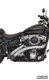 ECHAPPEMENT - BASSANI - SOFTAIL FXBB / FXLR / FLHC / FLFB / FXFB / FXBRS 18UP - SWEEPER RADIUS 2 EN 1 - CHROME