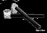 GUIDON BRACELETS ROLAND SANDS RSD - CLIP ON - CHROME - 49MM