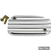 ECLATE L - PIECE N° 34H - COUVRE MAITRE CYLINDRE D'EMBRAYAGE HYDRAULIQUE - TOURING 08/16 / V-ROD06UP - JOKER MACHINE - FINNED - CHROME