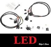ECLATE L - PIECE N° 50 - INTERRUPTEURS DE GUIDON - TOURING 96/06 AVEC RADIO - MCS - NOIR - BACKLITE LED / ECLAIRAGE LED -