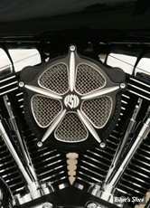 - FILTRE A AIR - ROLAND SANDS RSD - BT93UP / SOFTAIL 01/15 / DYNA 04/17 / TOURING 02/07 - EVOLUTION & TWINCAM - VENTURI AIR CLEANER SPEED 5 - CONTRAST CUT