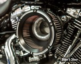 - FILTRE A AIR - TRASK PERFORMANCE - ASSAULT CHARGE HIGH-FLOW AIR CLEANER - TOURING 02/07 / SOFTAIL 01/15 / DYNA 04/17 / TWINCAM CARBU CV 99/06 - REVERSE CUT
