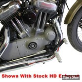COMMANDES AVANCEES - SPORTSTER 04/13 - TC BROS CHOPPERS - AVEC REPOSES PIEDS