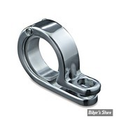 "AV / COLLIER DE TUBE 1 1/8"" A 1 1/4"" (28.45MM A 32MM) - KURYAKYN - CHROME - 4024"