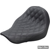 SELLE SOLO - SOFTAIL FXLR / FLSB 18UP - SADDLEMEN - RENEGADE™ LS SOLO SEATS - NOIR