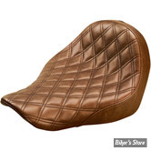 SELLE SOLO - SOFTAIL FXLR / FLSB 18UP - SADDLEMEN - RENEGADE™ LS SOLO SEATS - MARRON