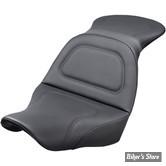 SELLE DUO - SOFTAIL FXLR / FLSB 18UP - SADDLEMEN - EXPLORER SEAT - NOIR - SANS DOSSIER