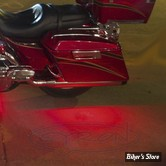 CY - BANDE DE LEDS - CYRON -  Motorcycle Safety Skirt Lights - Couleur d'Eclairage : Rouge