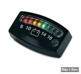 Jauge de charge de batterie Led - noir - 4218