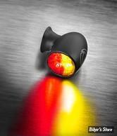 FEU AR KELLERMANN - BULLET ATTO DF - Atto DF Turn Signal/Taillight/Brake Light - 3 FONCTIONS D'ECLAIRAGE - FINITION : NOIR - LA PIECE - 156.200