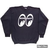 SWEAT SHIRT - MOON - MOON EQUIPPED - COULEUR : NOIR - TAILLE M