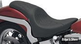 SELLE DRAG SPECIALTIES - PREDATOR - SOFTAIL DEUCE - FLAME STITCH