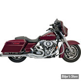ECHAPPEMENT BASSANI - ROAD RAGE 2EN1 MEGA POWER - TOURING 95/16 - CHROME AVEC EMBOUT FLUTED CONTRAST CUT